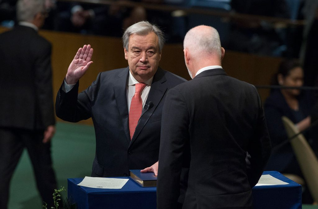 Seventy Years of Secretaries-General: From Lie to Guterres