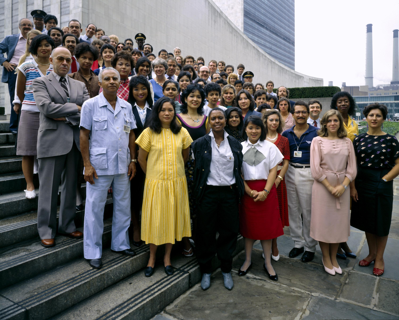 UNHQ Staff, August 1985