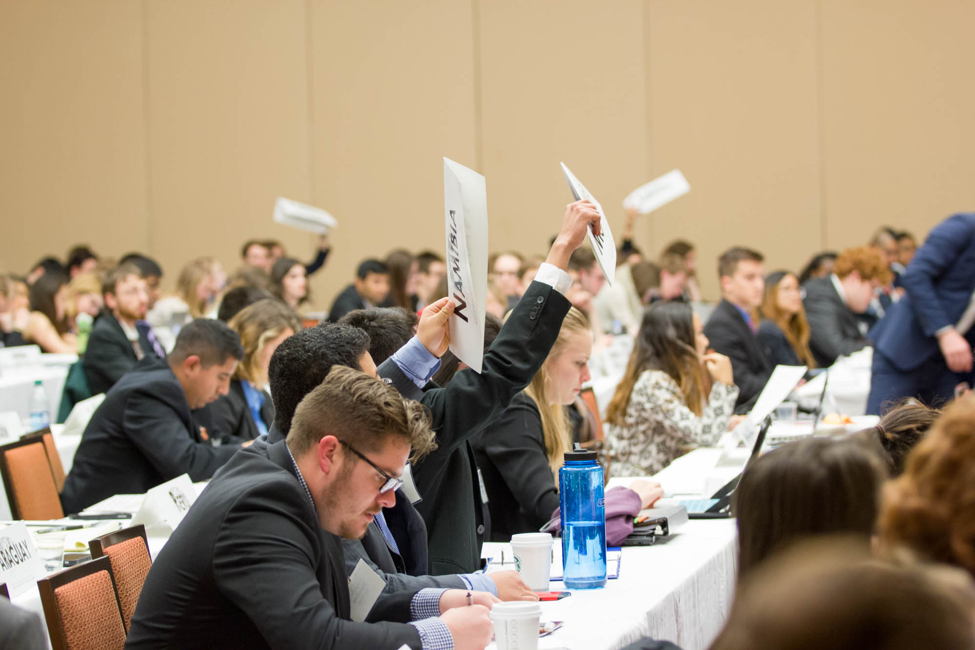 Welcome to the new AMUN Accords. Participants at the AMUN Chicago Model UN Conference