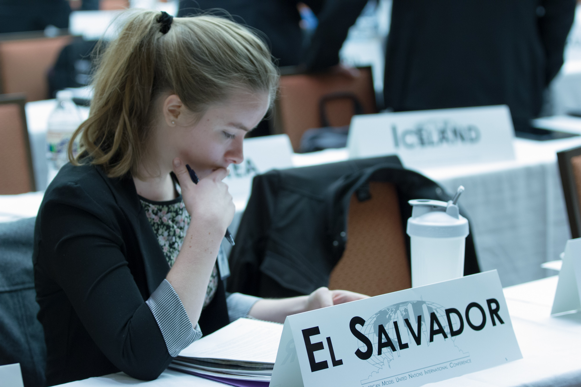 Representatives at American Model United Nations - AMUN's UN News Update
