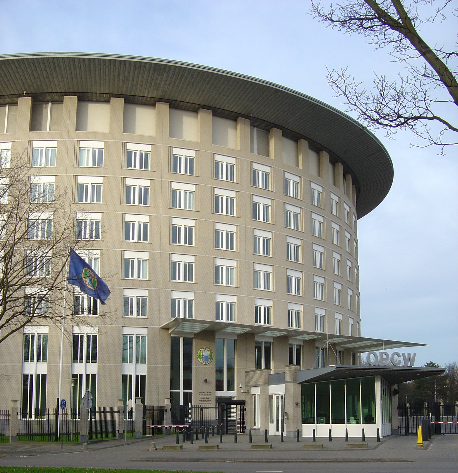 OPCW Headquarters in the Hague, Netherlands