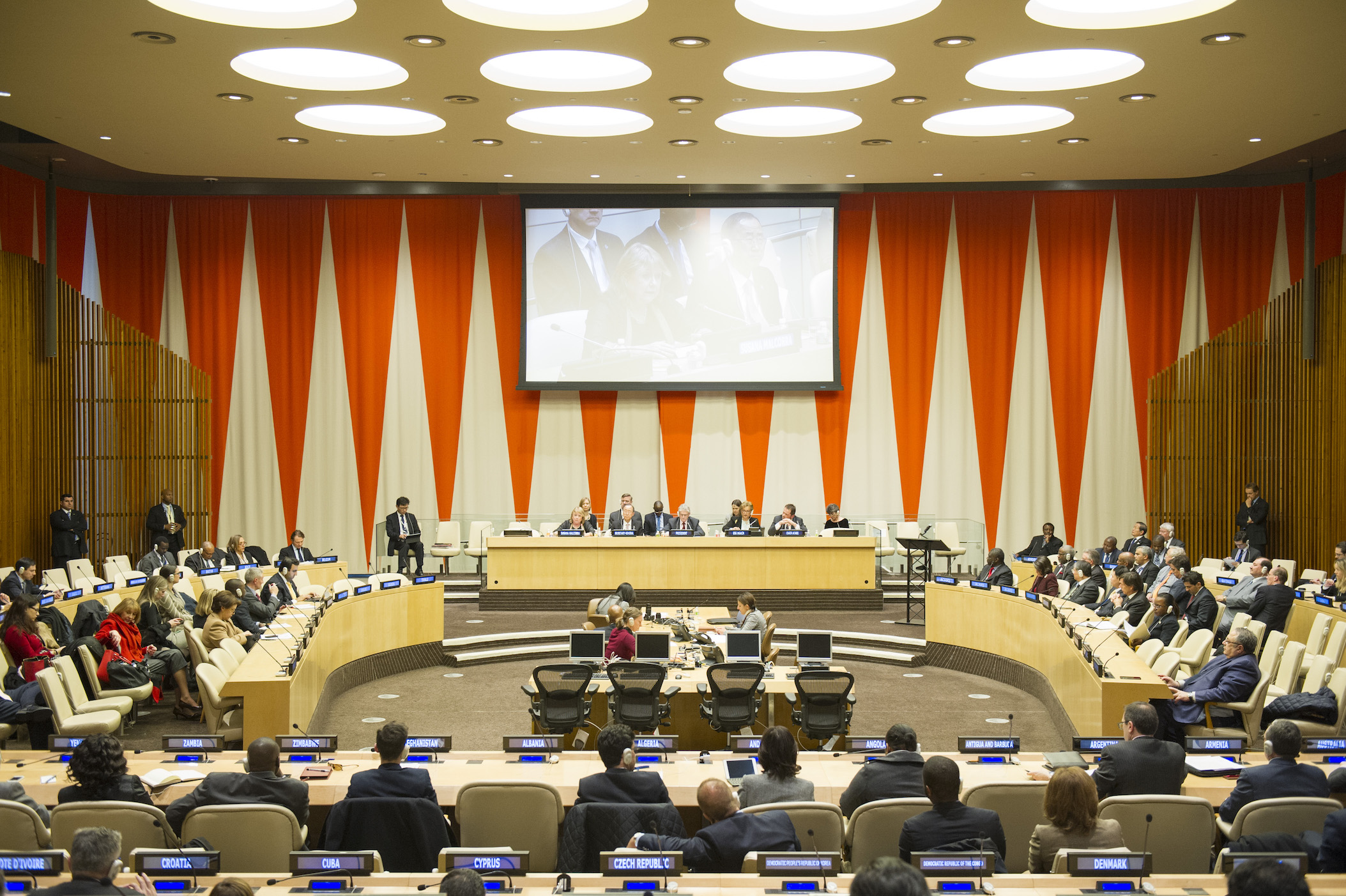 Meeting of Advisory Committee on Administrative and Budgetary Questions on the UN Budget