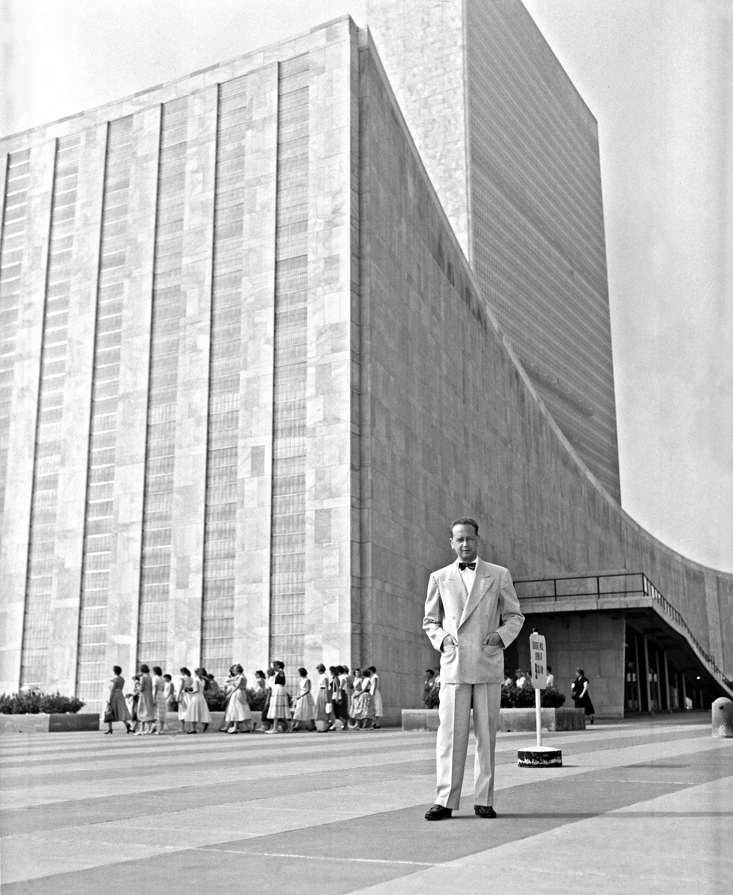 Dag Hammarskjold at the United Nations - UN Day 2017