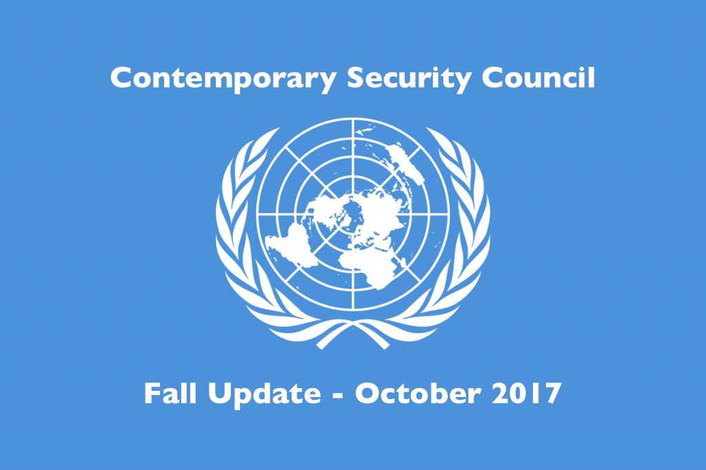 SC Fall Update