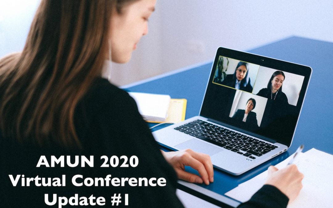 AMUN 2020 Moves Online!