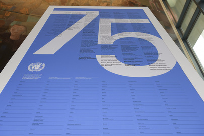 HAPPY UNITED NATIONS DAY: 75 Years of Maintaining International Peace and Security
